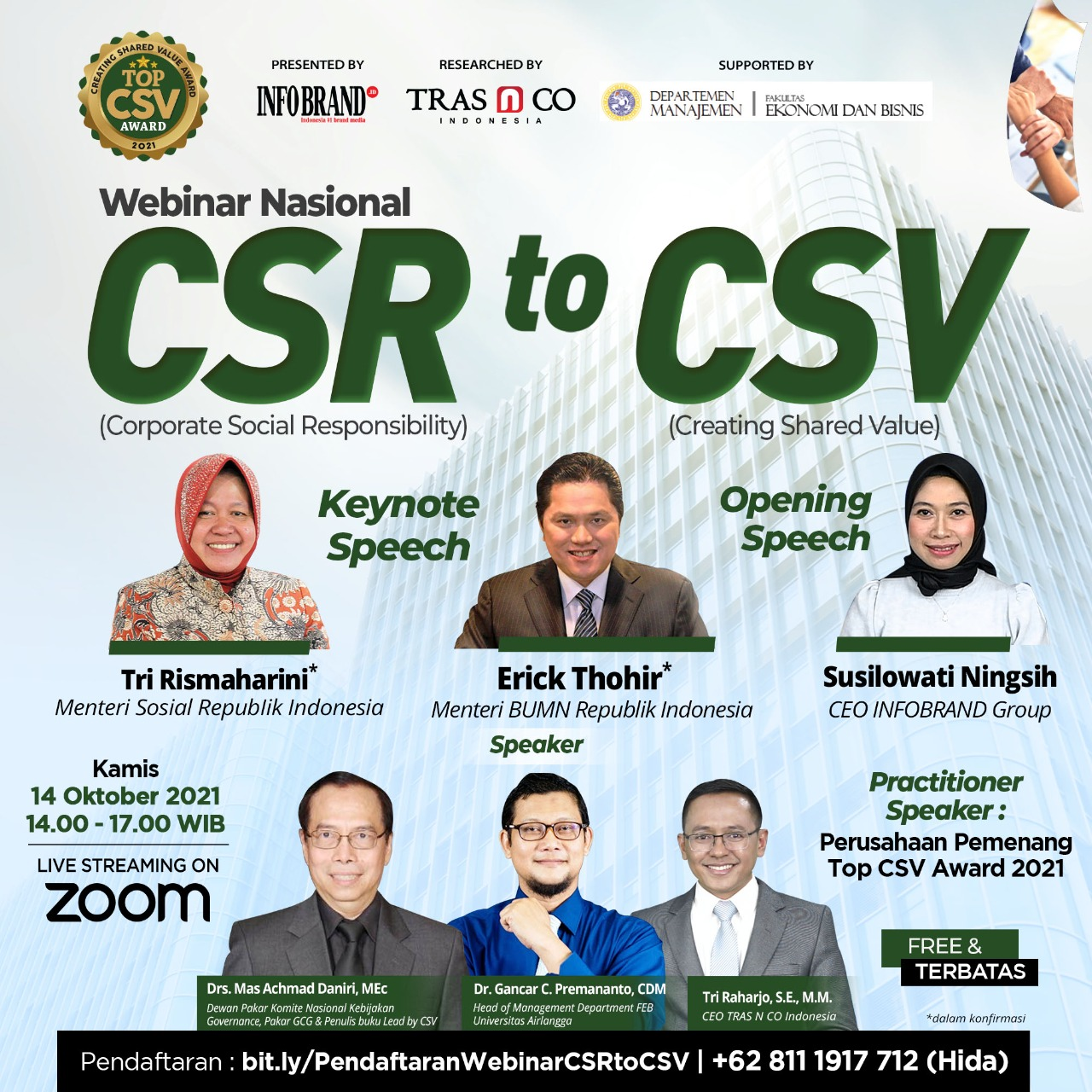WEBINAR NASIONAL CSR TO CSV