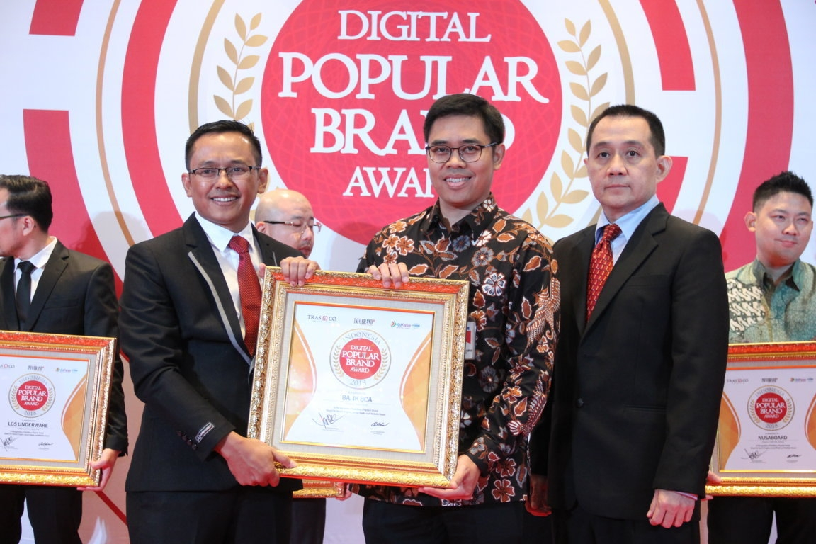 Indonesia Digital Popular Brand Award - Bank BCA