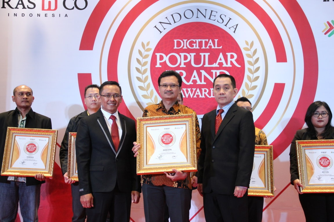 Indonesia Digital Popular Brand Award - Bank BTN