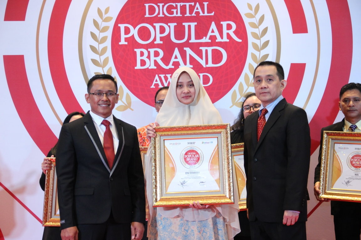 Indonesia Digital Popular Brand Award - BNI Syariah