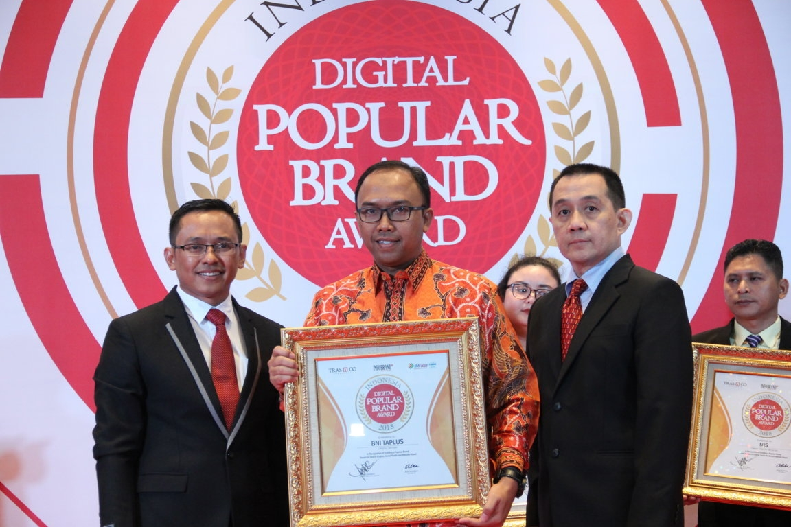 Indonesia Digital Popular Brand Award - BNI Taplus