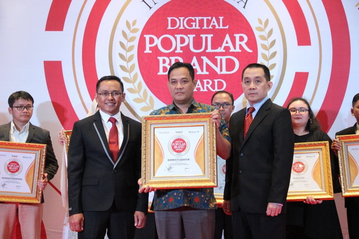 Indonesia Digital Popular Brand Award - Bodrex Flu & Batuk