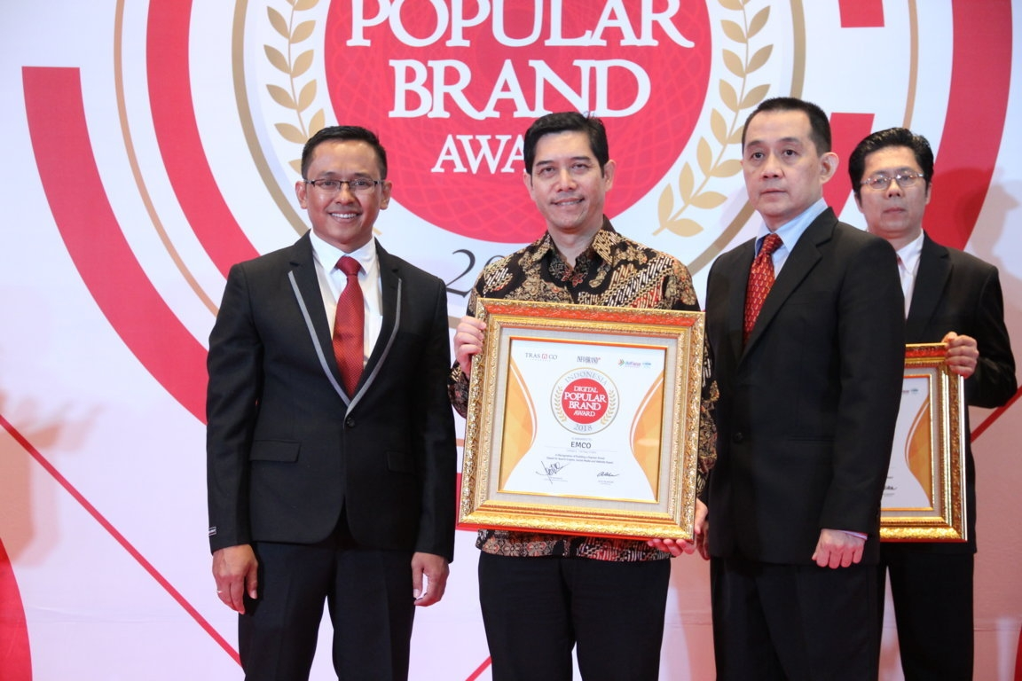Indonesia Digital Popular Brand Award - Emco
