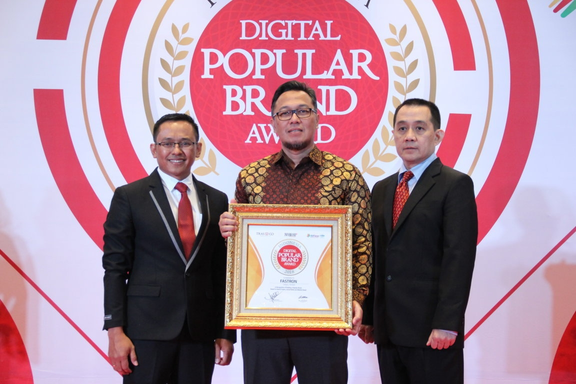 Indonesia Digital Popular Brand Award - Fastron