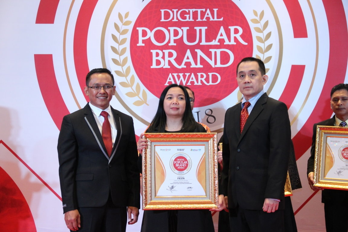 Indonesia Digital Popular Brand Award - Fiesta
