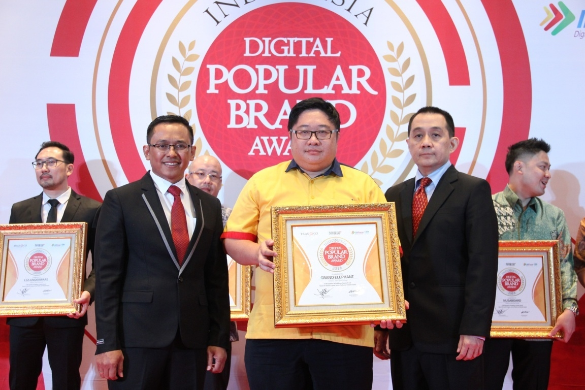 Indonesia Digital Popular Brand Award - Grand Elephant