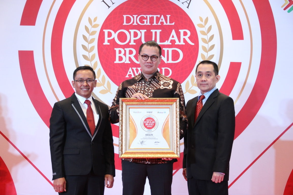 Indonesia Digital Popular Brand Award - Idealife