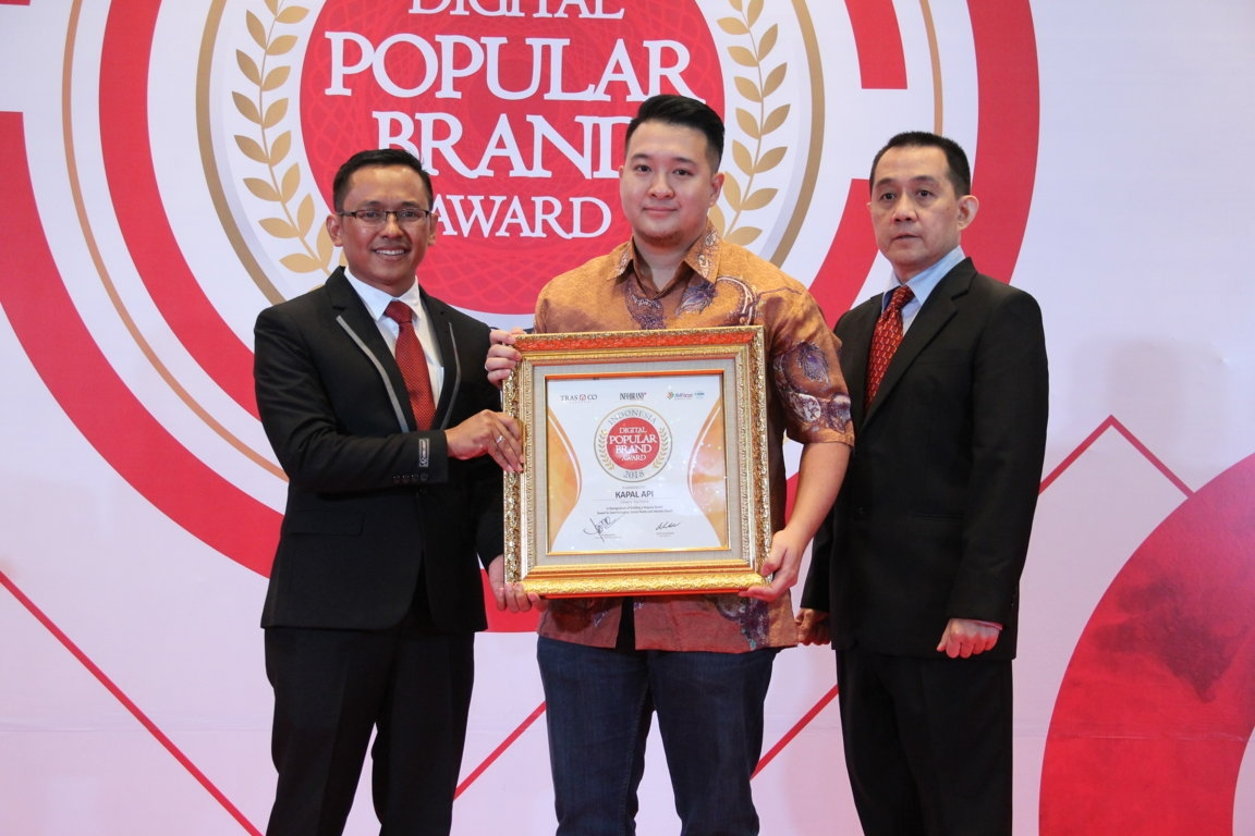 Indonesia Digital Popular Brand Award - Kapal Api