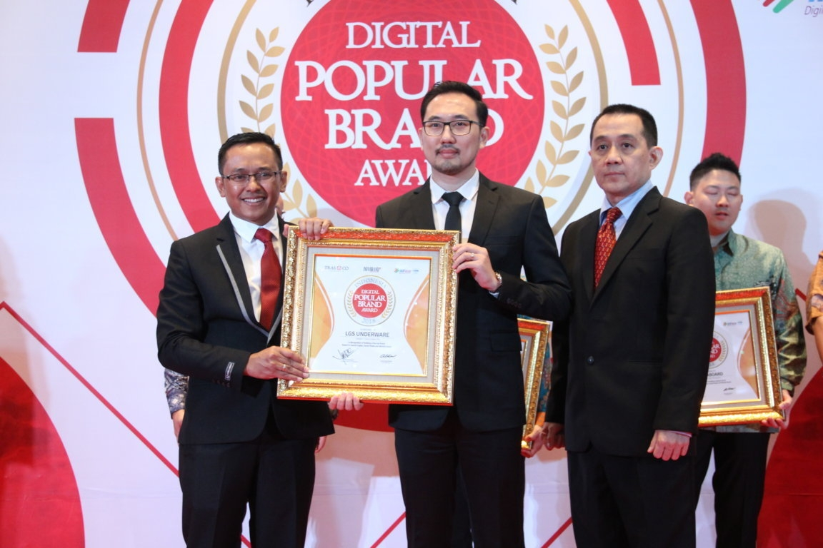Indonesia Digital Popular Brand Award - LGS Underware