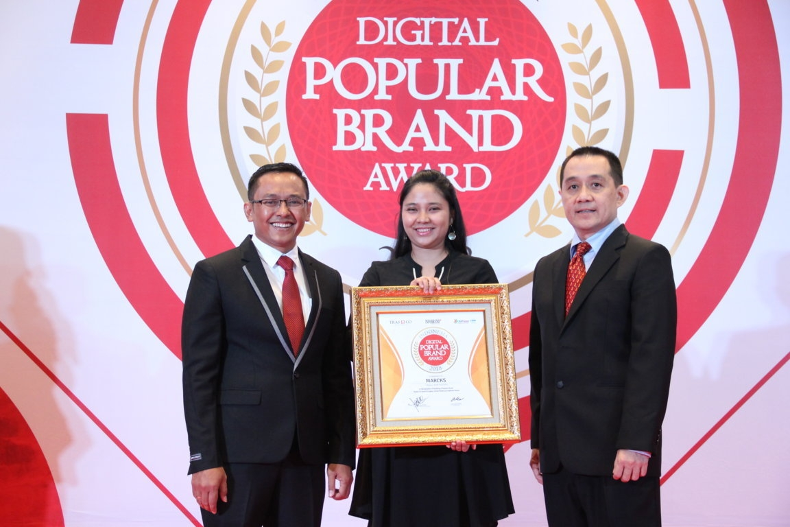 Indonesia Digital Popular Brand Award - Marcks