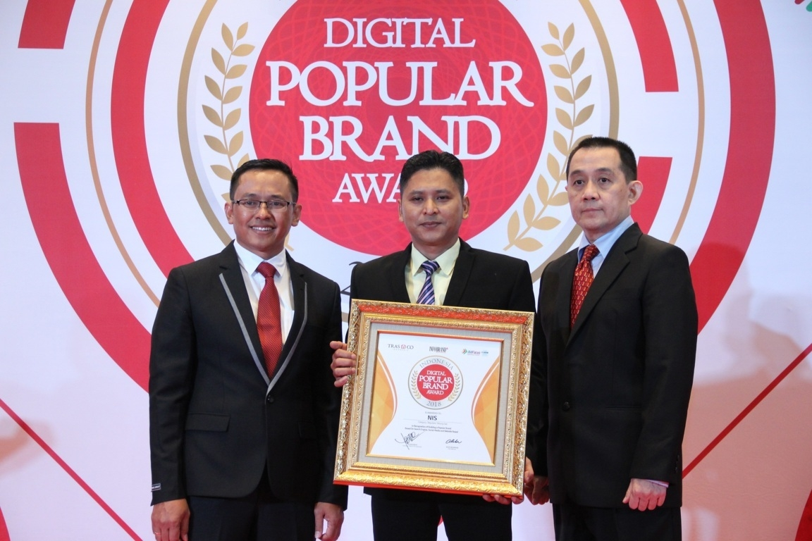 Indonesia Digital Popular Brand Award - NIS