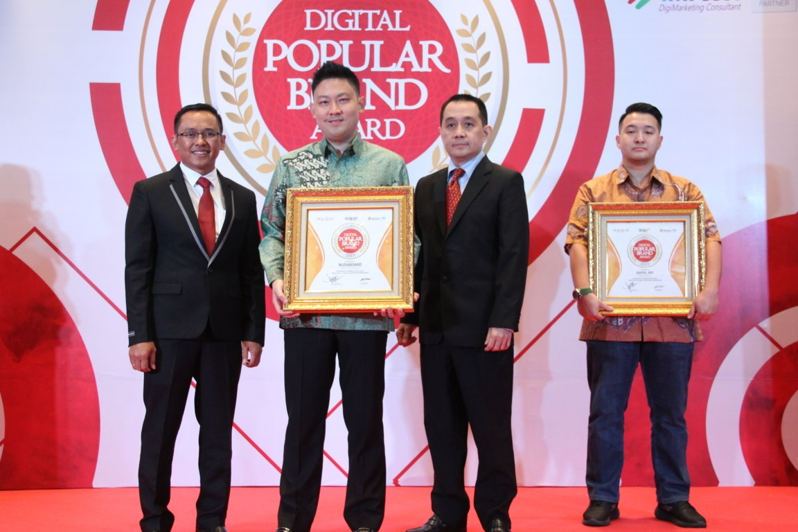Indonesia Digital Popular Brand Award - Nusaboard