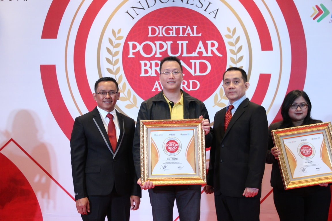 Indonesia Digital Popular Brand Award - OBH Combi