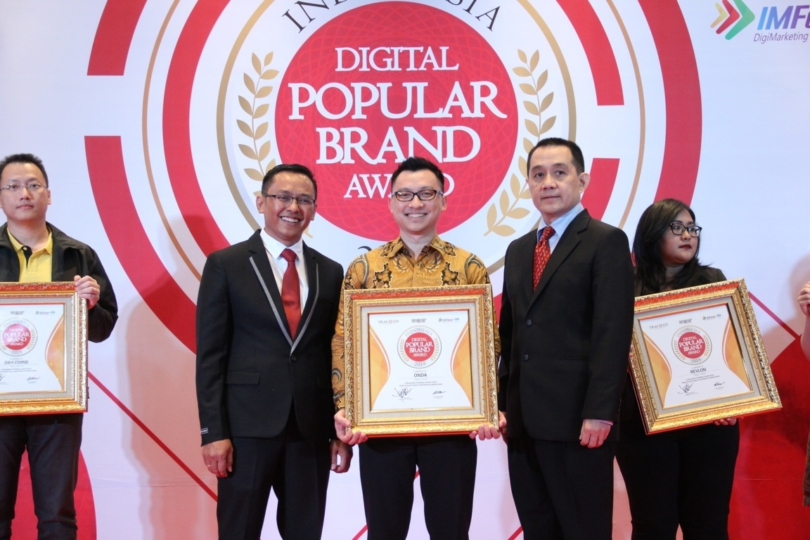 Indonesia Digital Popular Brand Award - Onda
