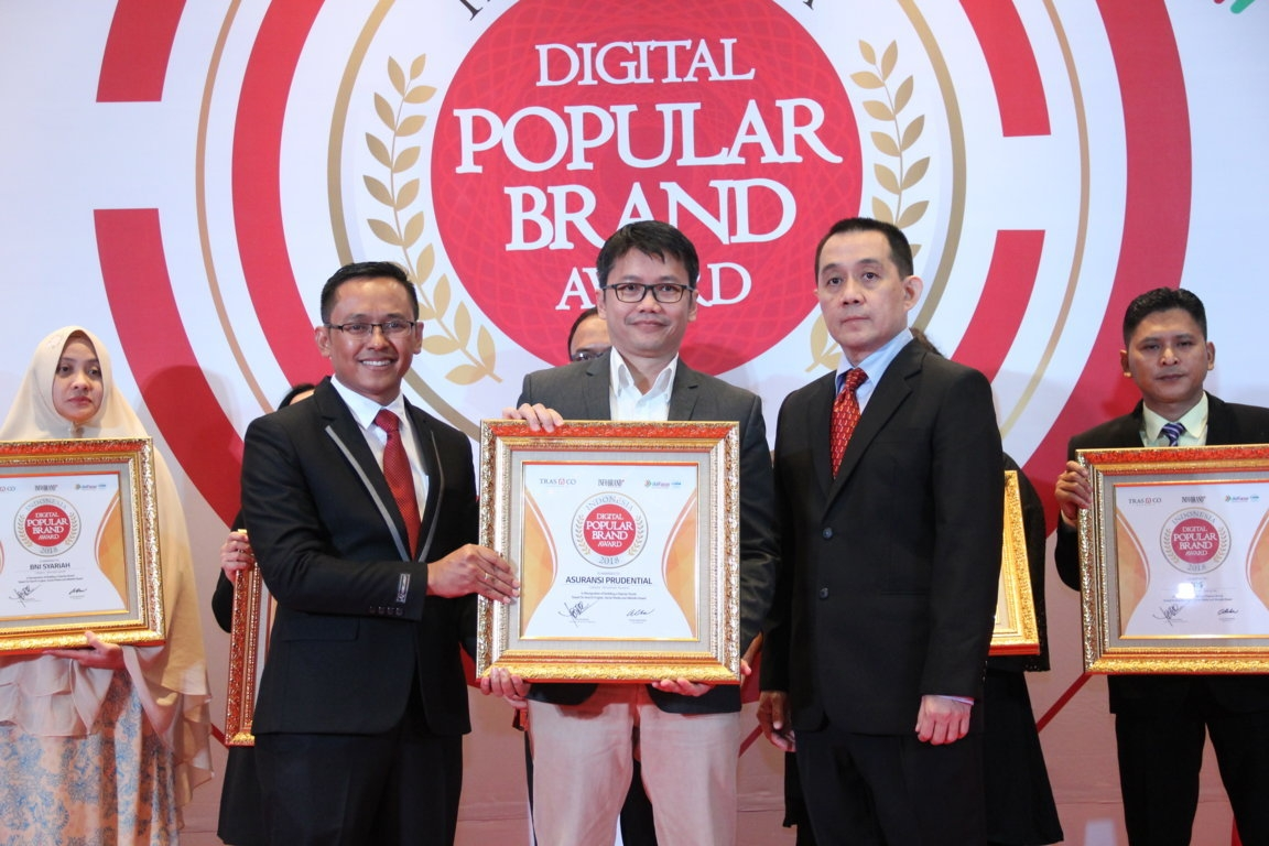 Indonesia Digital Popular Brand Award - Prudential