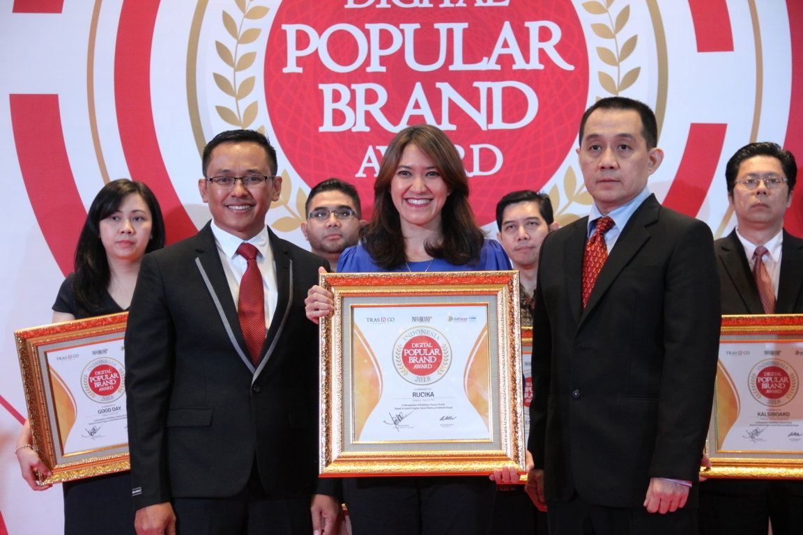 Indonesia Digital Popular Brand Award - Rucika