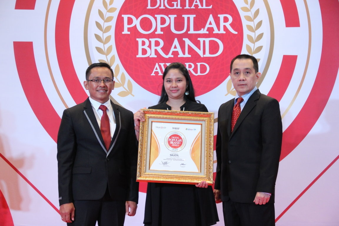 Indonesia Digital Popular Brand Award - Salicyl