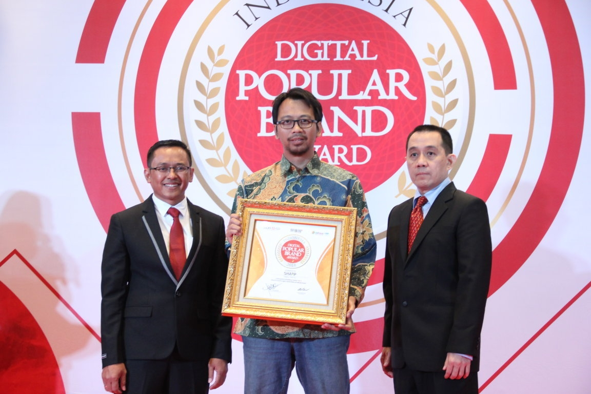 Indonesia Digital Popular Brand Award - Sharp