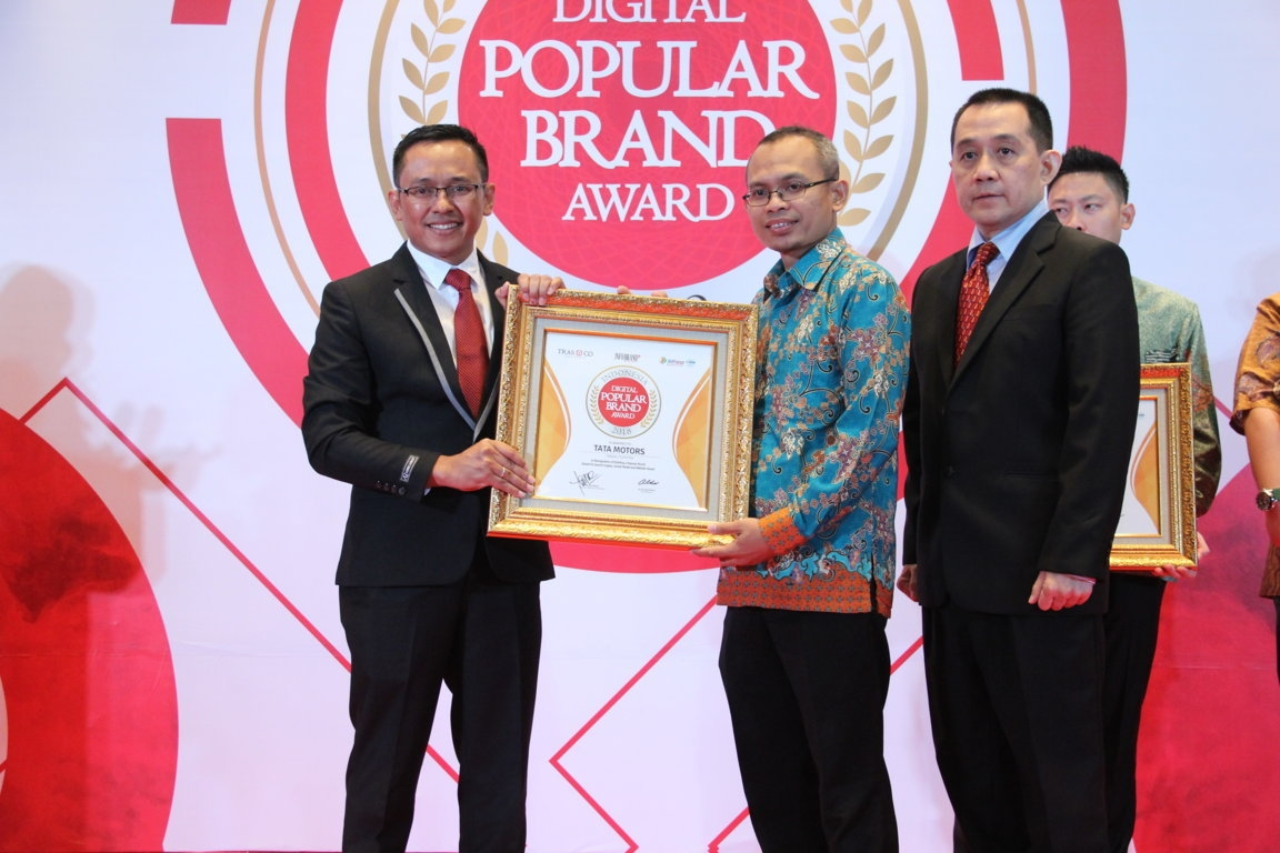 Indonesia Digital Popular Brand Award - Tata Motors