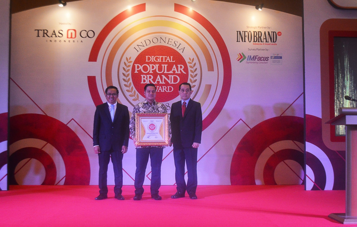 Indonesia Digital Popular Brand Award 2018 - BAF