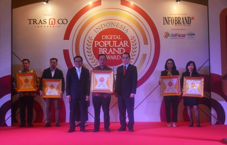 Indonesia Digital Popular Brand Award 2018 - BRI Syariah
