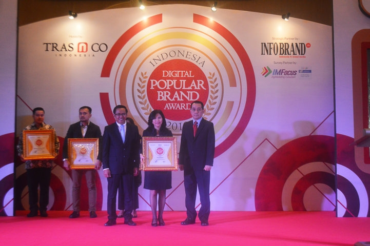 Indonesia Digital Popular Brand Award 2018 - ERA Indonesia