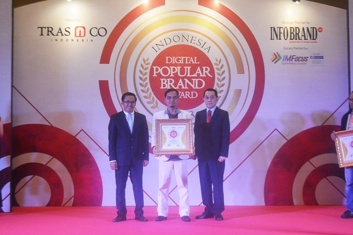 Indonesia Digital Popular Brand Award 2018 - Green Angelic
