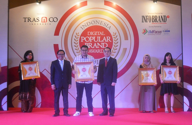 Indonesia Digital Popular Brand Award 2018 - Lois