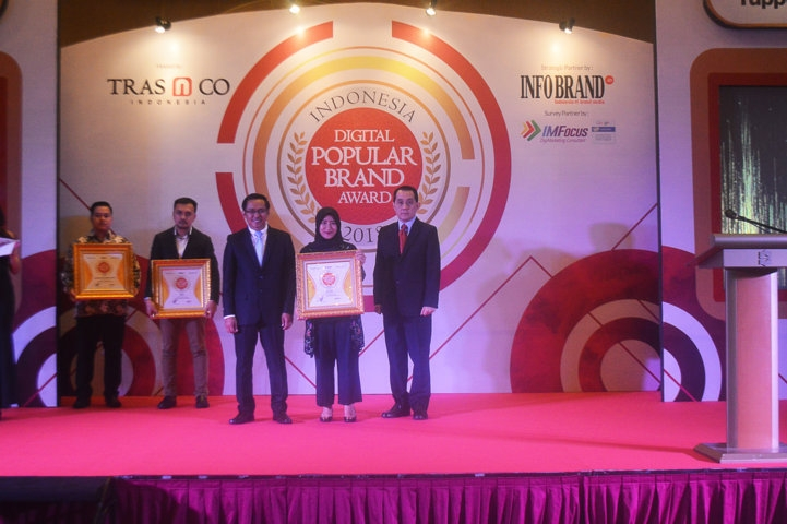 Indonesia Digital Popular Brand Award 2018 - My Baby