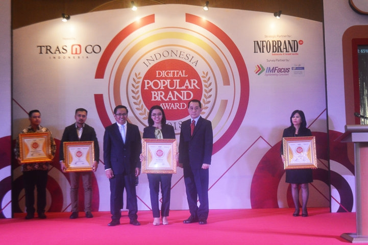 Indonesia Digital Popular Brand Award 2018 - OBH Combi Anak