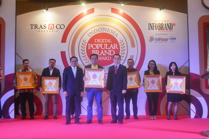 Indonesia Digital Popular Brand Award 2018 - Vitabumin