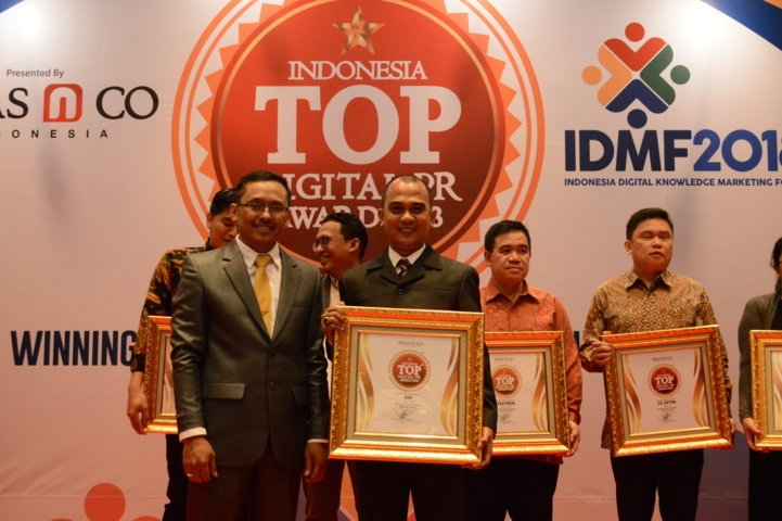 Bank BRI Indonesia Top DIgital Public Relation