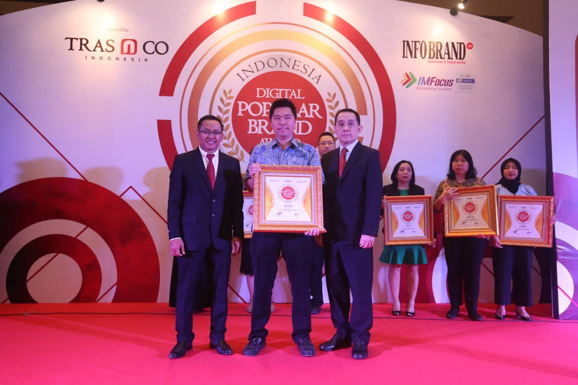 Indonesia Digital Popular Brand Award Blanco