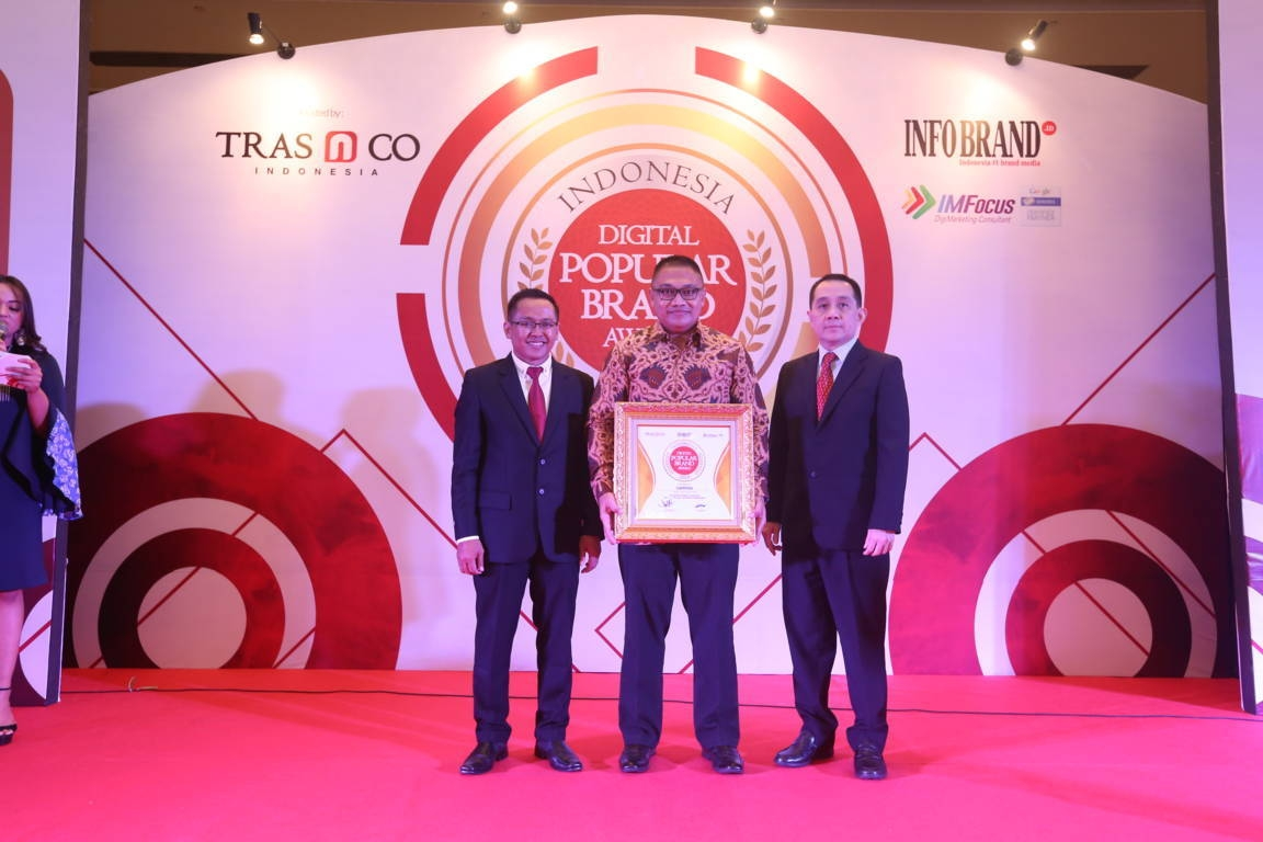 Indonesia Digital Popular Brand Award Campina