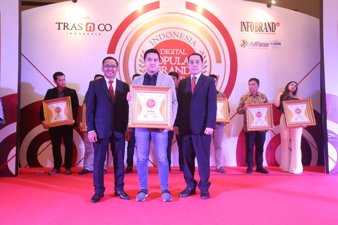 Indonesia Digital Popular Brand Award Confidence