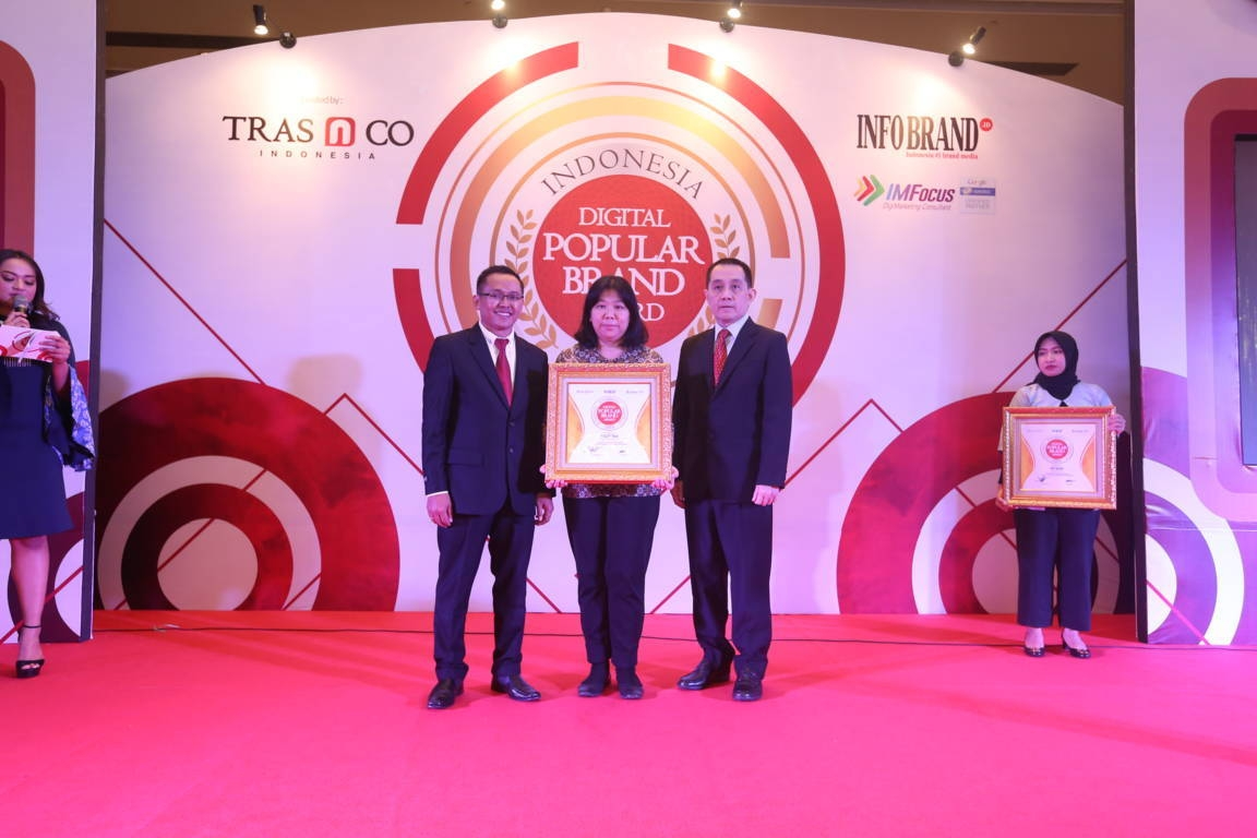 Indonesia Digital Popular Brand Award Fruit Tea