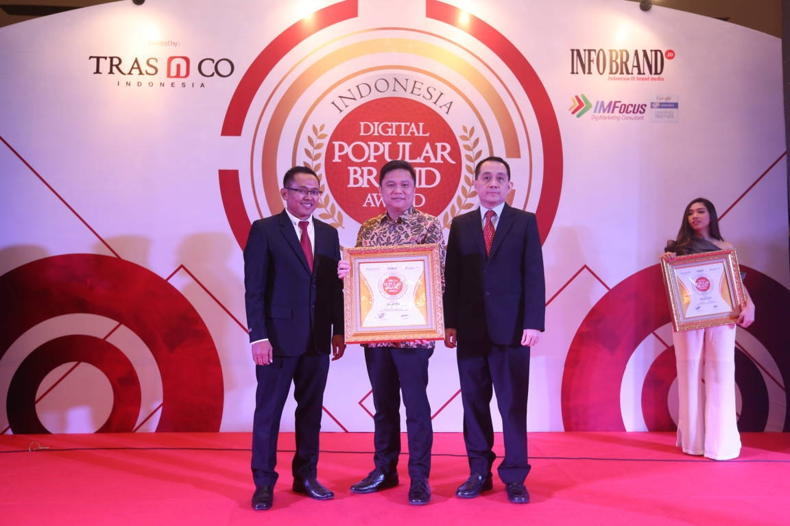 Indonesia Digital Popular Brand Award Gs Astra