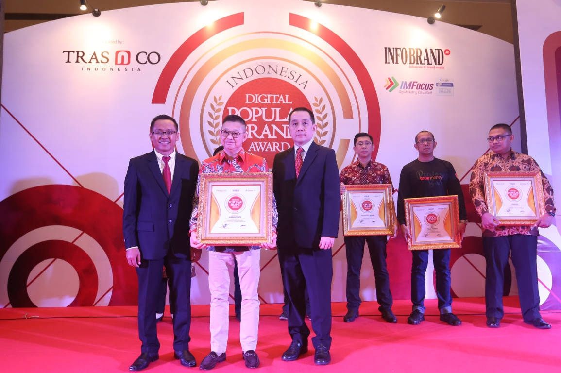 Indonesia Digital Popular Brand Award Hannochs
