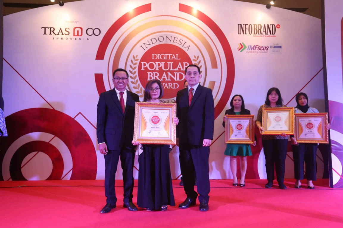 Indonesia Digital Popular Brand Award Merah Putih
