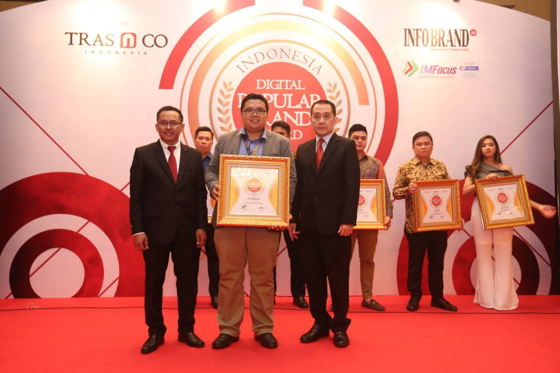 Indonesia Digital Popular Brand Award Pegadaian