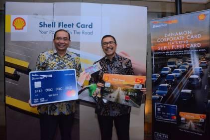 Kerja Sama Danamon dan Shell, Danamon Corporate Card Featuring Shell Fleet Card