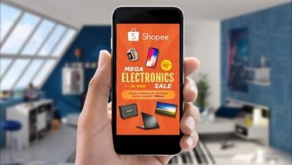 Shopee Menghadirkan Kampanye Elektronik Terbesar melalui