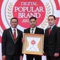NIS Produk Regulator Gas Karya Anak Bangsa, Berhasil Bawa Pulang Penghargaan Dari Indonesia Digital Popular Brand Award 2018