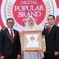 BNI Syariah Berhasil Raih Penghargaan Indonesia Digital Popular Brand Award  2018