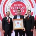 Keaktifannya Di Dunia Digital, Citilink Dapatkan Penghargaan Indonesia Digital Popular Brand Award 2018