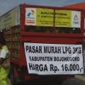 Pertamina Lakukan  Operasi Pasar  LPG 3 Kg di Bojonegoro