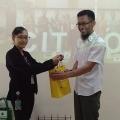 Mahasiswa Manajemen Belajar Bata Ringan CITICON
