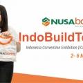 Nusaboard Dalam INDOBUILDTECH Expo 2018