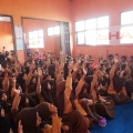 Sambut Hari Lingkungan Hidup Sedunia, SHARP Mobile Learning Station Sambangi Kota Serang