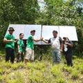 SHARP Bangun Sistem Panel Surya Di Pusat Reintroduksi Orangutan Kalimantan Timur, Samboja Lestari